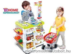 supermarket-szerepjátékhoz-bevásárlókocsival-rengeteg-kiegészítővel