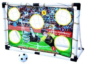 focikapu-labdával-célzó-hálóval