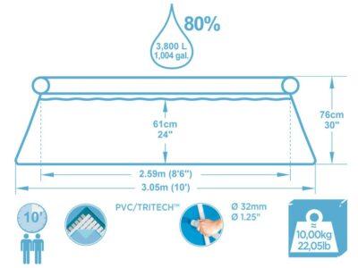bestway-kerti-medence-305-cm-vízforgatóval-papír-szűrővel-három-rétegű-nagyon-tartós-pvc-poliészter-oldalfalak-másolat-3