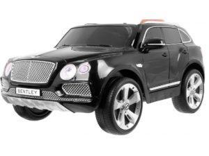 Elektromos Kisautó Bentley Bentayga-TakaróPonyvával-Fekete