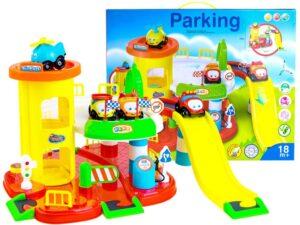 Autópálya-Parkolóház-Mozgatható Lifttel