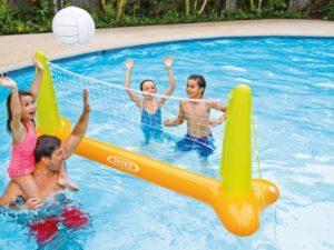 Intex Felfújható Vízi Röplabda Játékszett-Hálóval-Labdával 239 x 64 x 91 cm