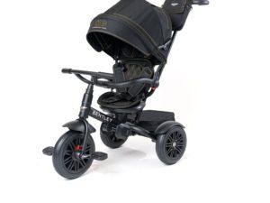 prémium kategóriás limitált bentley trike 6 az 1-ben-babakocsi-Átalakítható tricikli-fekete-arany