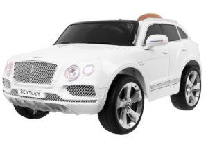 Elektromos Kisautó Bentley Bentayga-TakaróPonyvával-Fehér