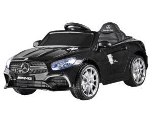 Elektromos Kisautó Mercedes S63 AMG-Slusszkulccsal-Fekete