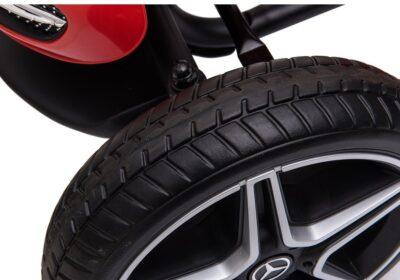 Mercedes Benz Pedálos Gokart-Állítható Üléssel-EVA Kerékkel-2 Év Jótállással-Piros