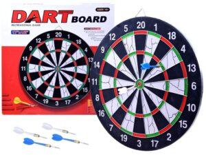 darts céltábla-6 db. darts nyíllal-Átmérő 42.5 cm