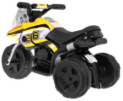 elektromos kismotor racing 26-világító első lámpa-sárga