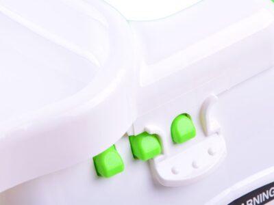 multifunkcionális etetőasztal-játszóasztal-felnőtt székhez rögzíthető-utazáshoz is kiváló-Állítható-Összecsukható-fény és hanghatások-dallamok
