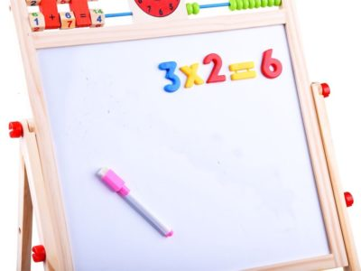 2-in-1 chalk magnetic board + ta0083 numbers