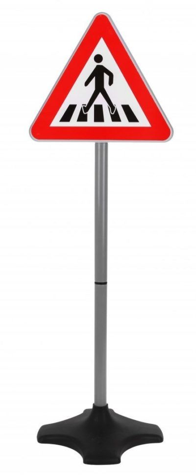 kresz táblák-81 cm-5 db.