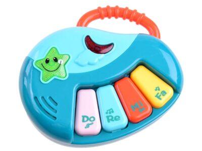 interaktív járássegítő-kivehető rajztáblával és zongorával-telefonnal-könyvecskével-dallamok-fény és hanghatások