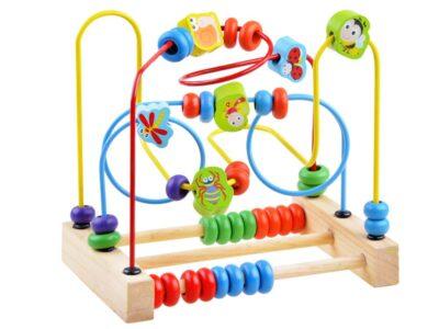"""fa Állatos golyóvezető-oktató játék """"b"""""""