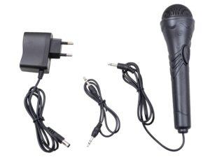 nagy méretű szintetizátor mikrofonnal-kottatartóval-led kijelzővel-rózsaszín