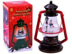 karácsonyi dekoráció-lámpás-fény-dallam