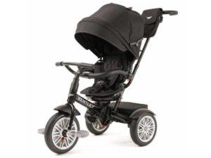 prémium kategóriás bentley trike 6 az 1-ben-babakocsi-Átalakítható tricikli-fekete