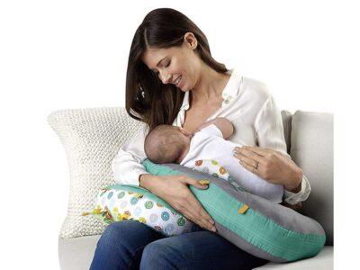 5 az 1-ben játszó-stabilizációs párnahenger-terhességi párna-szoptatós párna-kabalával-csörgővel-levehető kiegészítő párnával-rózsaszín
