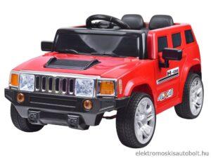 elektromos kisautó hummer re hasonlító tároló dobozzal piros 300x225 Kezdőlap