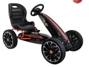 pedalos-gokart-abarth-licence-eva-kerekkel-feher-3